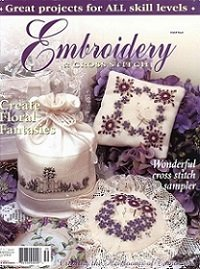 Embroidery & Cross Stitch vol.8 №7 2001
