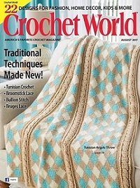 Crochet World - August 2017