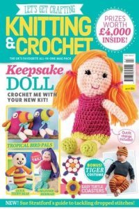 Let's Get Crafting Knitting & Crochet №93 2017