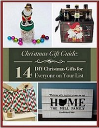 Christmas Gift Guide: 14 DIY Christmas Gifts for Everyone on Your List