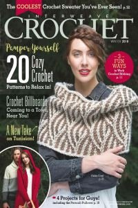 Interweave Crochet — Winter 2018