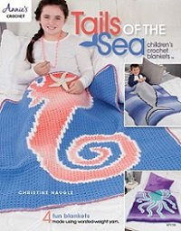 Tails of the Sea: Children's Crochet Blankets