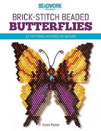 Brick-Stitch Beaded Butterflies