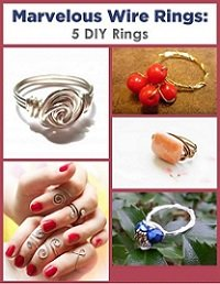 Marvelous Wire Rings: 5 DIY Rings