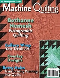 Machine Quilting Unlimited Vol.XVII №2 2017