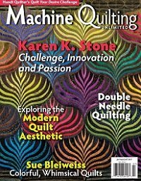 Machine Quilting Unlimited Vol.XVII №4 2017
