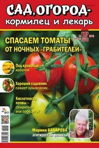 Сад огород кормилец и лекарь №16 2018