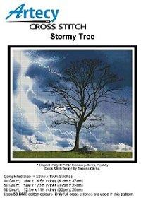 Stormy Tree (Artecy Cross Stitch)