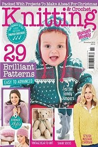 Knitting & Crochet from Woman's Weekly №6 2018
