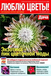 Люблю цветы №12 2012