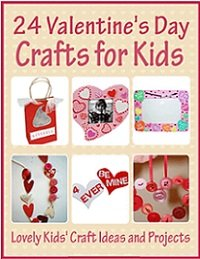 24 Valentine's Day Crafts for Kids Lovely Kids Craft Ideas and Projects