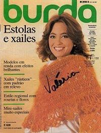 Burda special E628 1982 Estolas у xiles