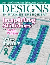 Designs In Machine Embroidery №94 2015