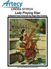Artecy Cross Stitch  -  Lady Playing Sitar