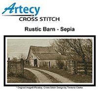 Rustic Barn - Sepia