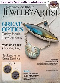 Lapidary Journal Jewelry Artist - September/October 2019