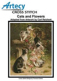 Cats and Flowers (Artecy Cross Stitch)