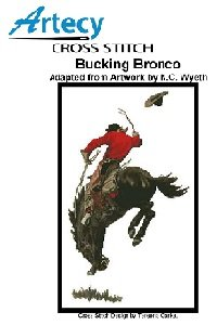 Bucking Bronco (Artecy Cross Stitch)