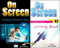 On Screen B2 (Student's Book+Writing Book+Workbook and Grammar Book)