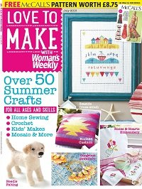 Love to make with Woman's Weekly - Jule 2015