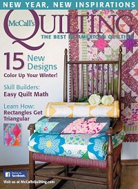 McCall's Quilting - January/February 2016