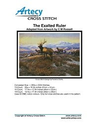 Artecy Cross Stitch - The Exalted Ruler