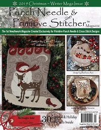 Punch Needle & Primitive Stitcher - Winter/Christmas 2019