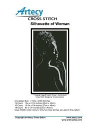 Artecy Cross Stitch - Silhouette of Woman