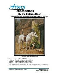 Artecy Cross Stitch - By the Cottage Door