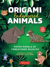 Origami Endangered Animals Kit: Paper Models of Threatened Wildlife
