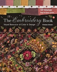 The Embroidery Book: Visual Resource of Color & Design