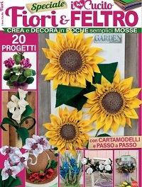 I love Cucito Speciale - Maggio/Giugno 2021 Fiori & Feltro