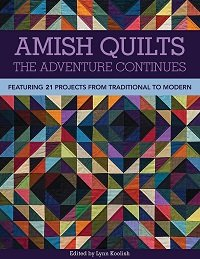 Amish Quilts, The Adventure Continues: Featuring 21 Projects from Traditional to Modern